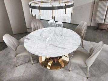 Стол обеденный Hermes round DV Home