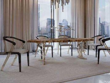 Стол обеденный Sidney 117 Bizzotto