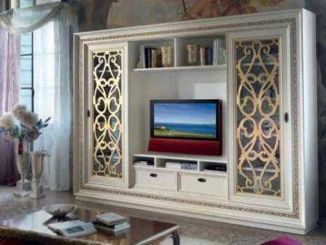 Стенка с золотыми вставками Bella Italia Vaccari Cav. Giovanni