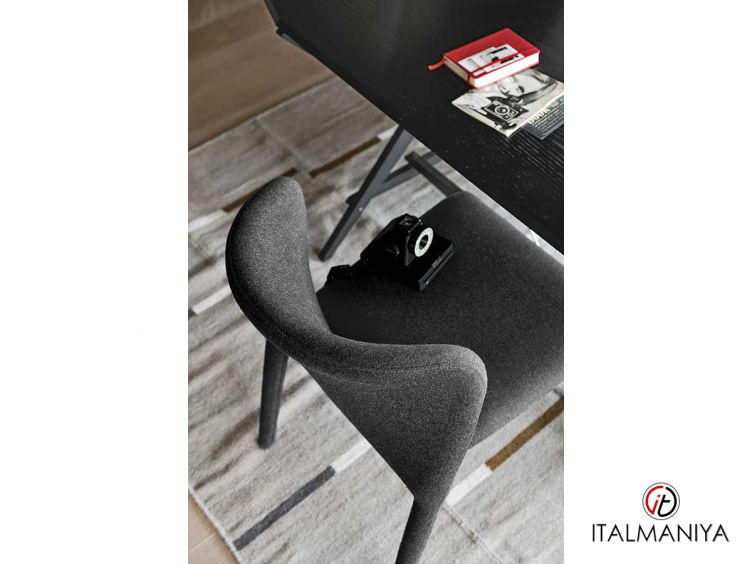 Фото 1 - Стул со снимаемой обивкой Karol фабрики Alf (производство Италия) в современном стиле из массива дерева