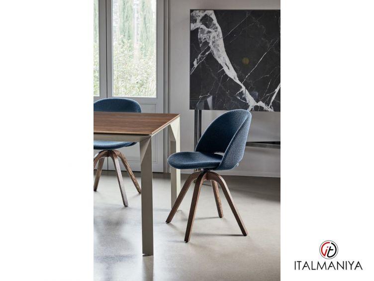 Фото 1 - Стул с мягким сидением Polo фабрики Bontempi Casa (производство Италия) в современном стиле из металла (кованая)