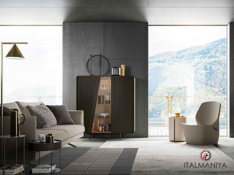 Фото 1 - Витрина Musa фабрики Alf (производство Италия) в современном стиле из массива дерева