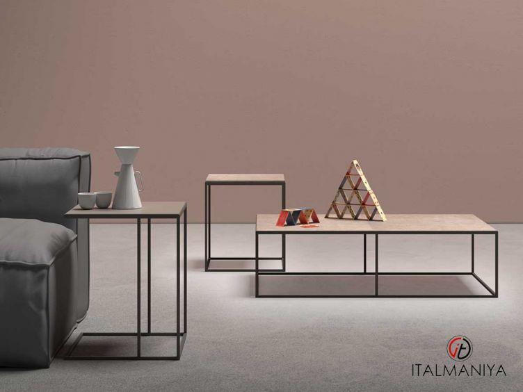 Фото 1 - Журнальный столик Kobe фабрики Alf (производство Италия) в современном стиле из металла