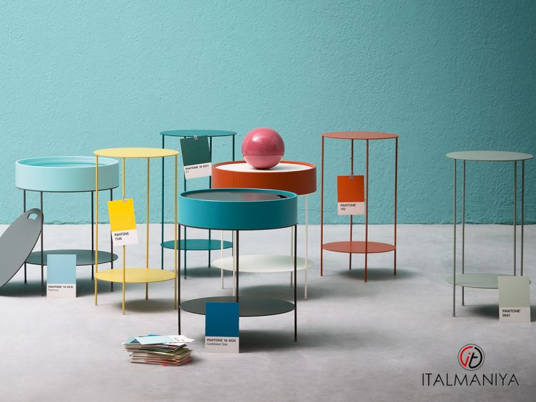 Фото 1 - Журнальный столик Wok Box фабрики Alf (производство Италия) в современном стиле из металла