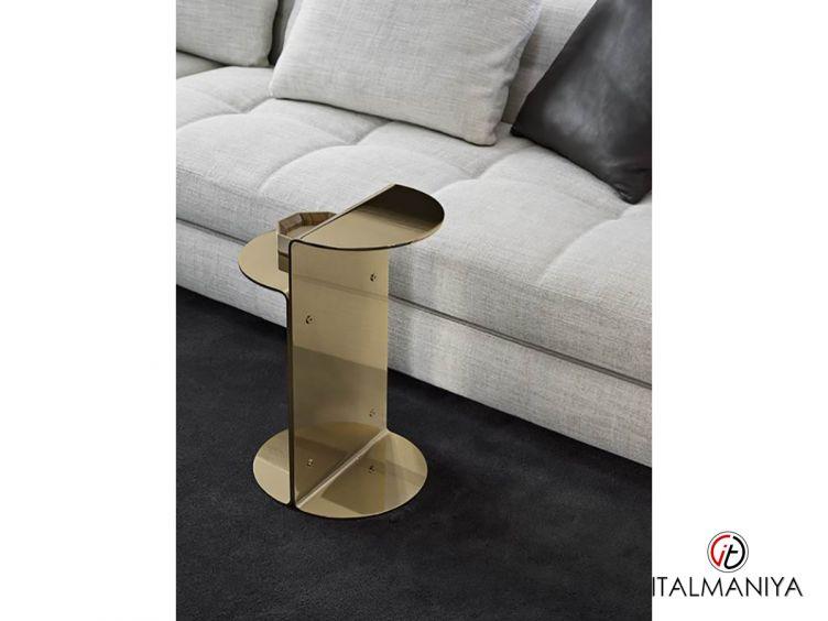 Фото 1 - Журнальный столик Flirt фабрики Minotti (производство Италия) в современном стиле из металла