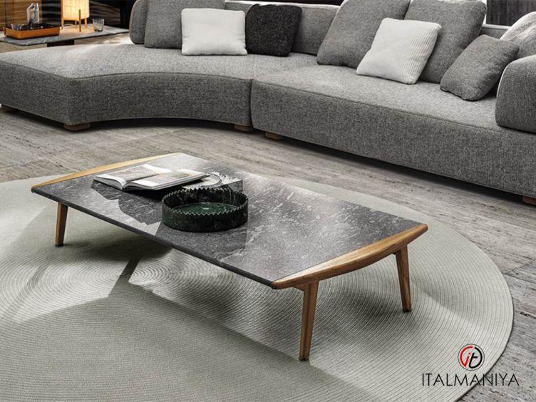 """Фото 1 - Журнальный столик Fynn """"Outdoor"""" фабрики Minotti (производство Италия) в современном стиле из массива дерева"""