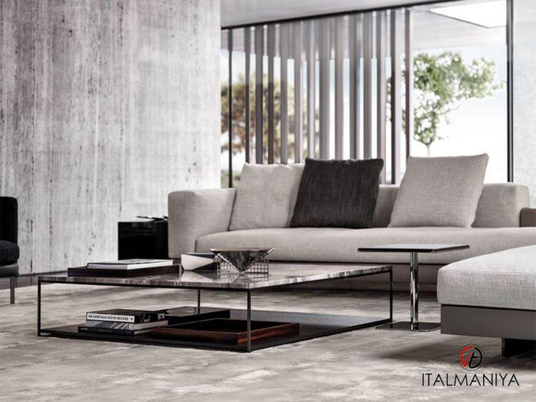 Фото 1 - Журнальный столик Liam фабрики Minotti (производство Италия) в современном стиле из металла