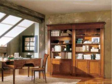 Библиотека с 4 дверками Bella Italia Tarocco Vaccari