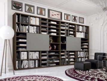 Библиотека Libreria 203 Astor Mobili