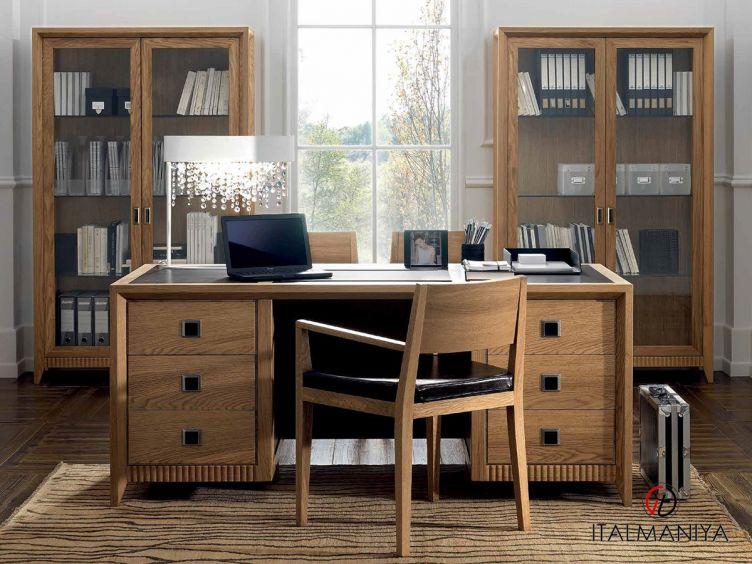 Фото 1 - Кабинет Aktual фабрики FM Bottega (производство Италия) в современном стиле из массива дерева