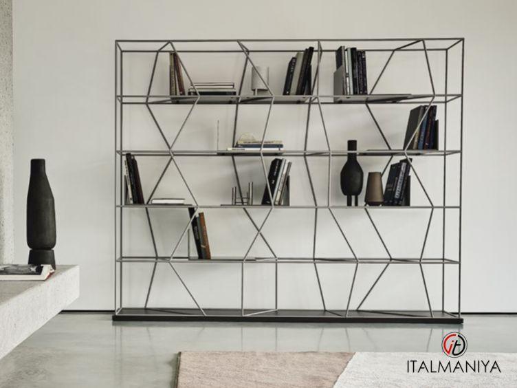 Фото 1 - Стеллаж Lexington фабрики Bontempi Casa (производство Италия) в современном стиле из металла