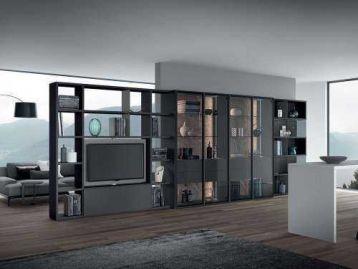 Стеллаж Libreria home 04 Astor Mobili