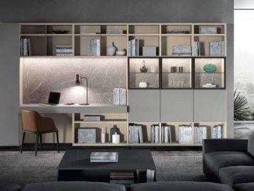 Стеллаж Libreria home 10 Astor Mobili
