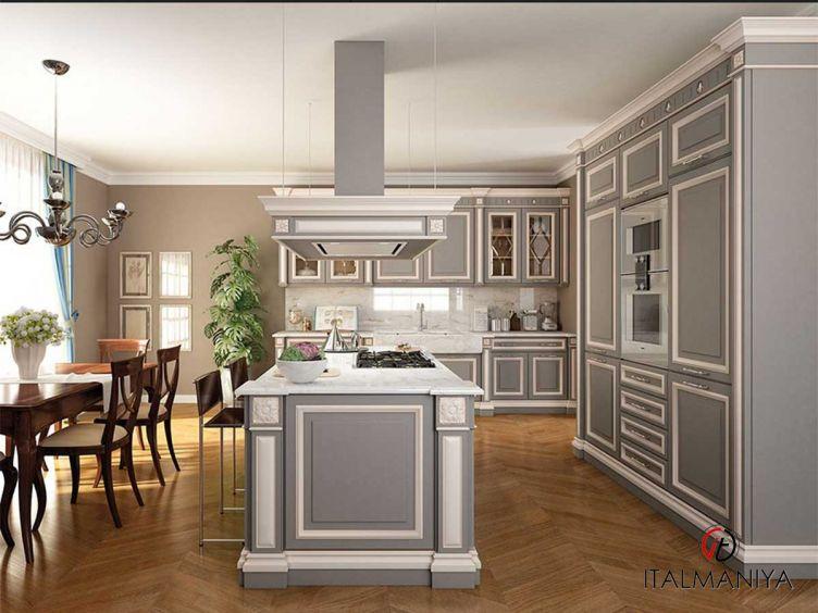 Фото 1 - Кухня Firenze фабрики FM Bottega (производство Италия) в классическом стиле из массива дерева