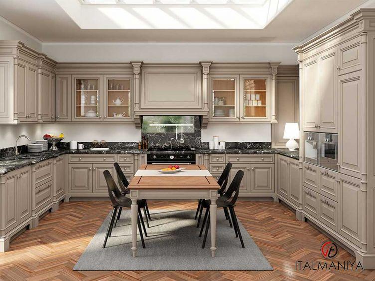 Фото 1 - Кухня Venezia фабрики FM Bottega (производство Италия) в классическом стиле из массива дерева