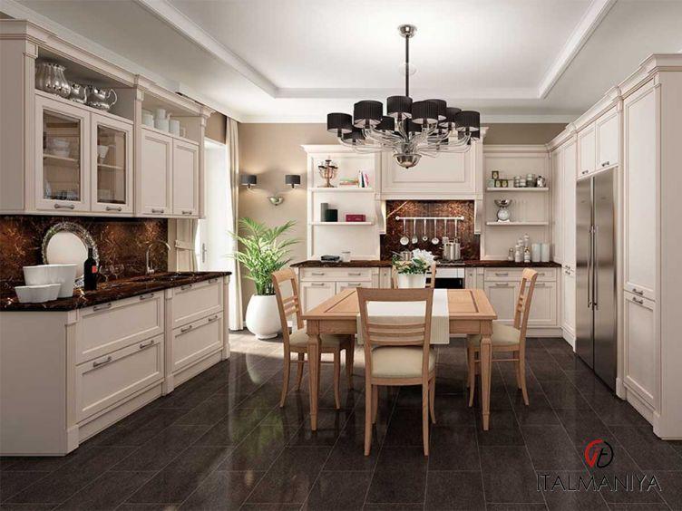 Фото 1 - Кухня Milano фабрики FM Bottega (производство Италия) в классическом стиле из массива дерева