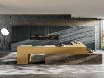 Кухня 36e8 Metal XGlass Lago