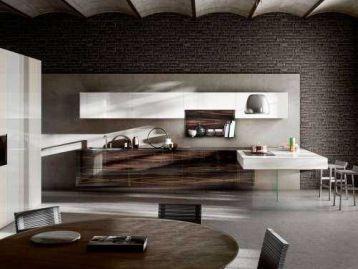 Кухня 36e8 Wood XGlass Lago