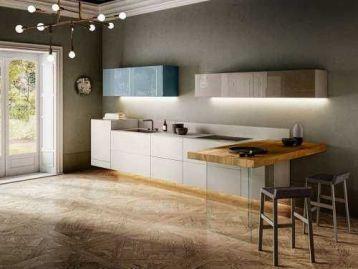 Кухня 36e8 Fenix Lago