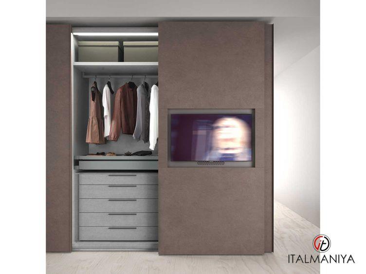Фото 1 - Шкаф Poker Television фабрики Alf (производство Италия) в современном стиле из МДФ