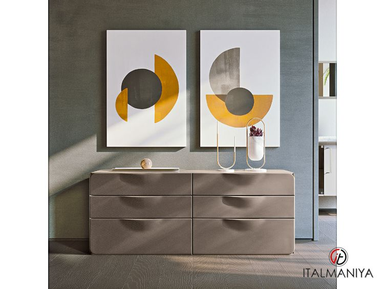 Фото 1 - Комод Milano фабрики Turri (производство Италия) в современном стиле из металла