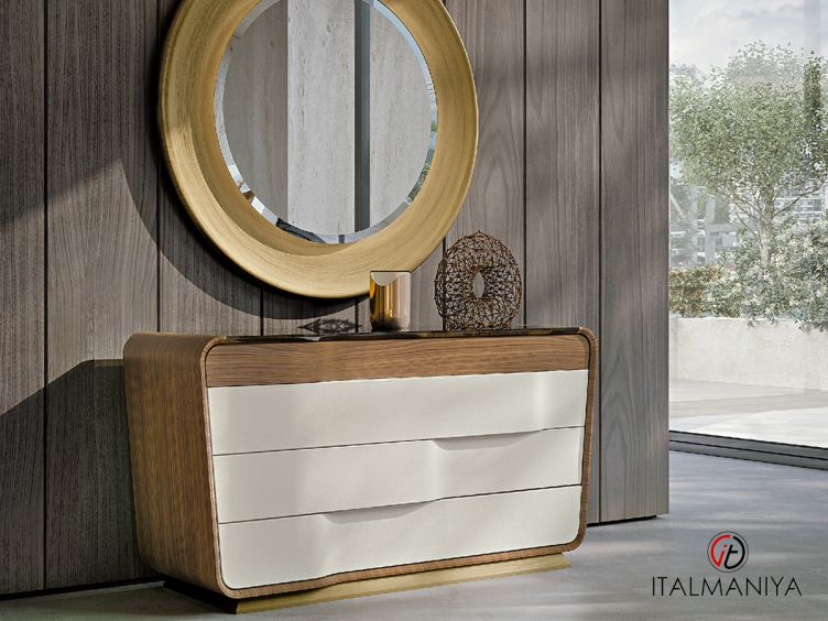 Фото 1 - Комод Melting Light фабрики Turri (производство Италия) в современном стиле из массива дерева