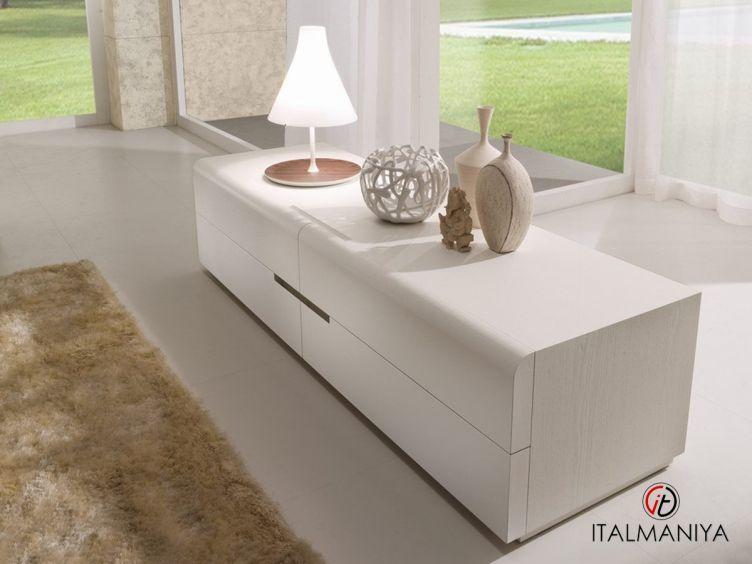 Фото 1 - Комод Nida Laccato фабрики La Falegnami (производство Италия) в современном стиле из массива дерева