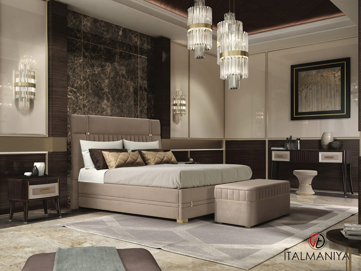 Фото 5 - Кровать Exclusive фабрики A&M Ghezzani