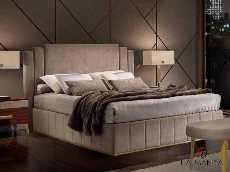 Фото 1 - Кровать без изножья Richmond фабрики Barnini Oseo (производство Италия) в современном стиле из массива дерева