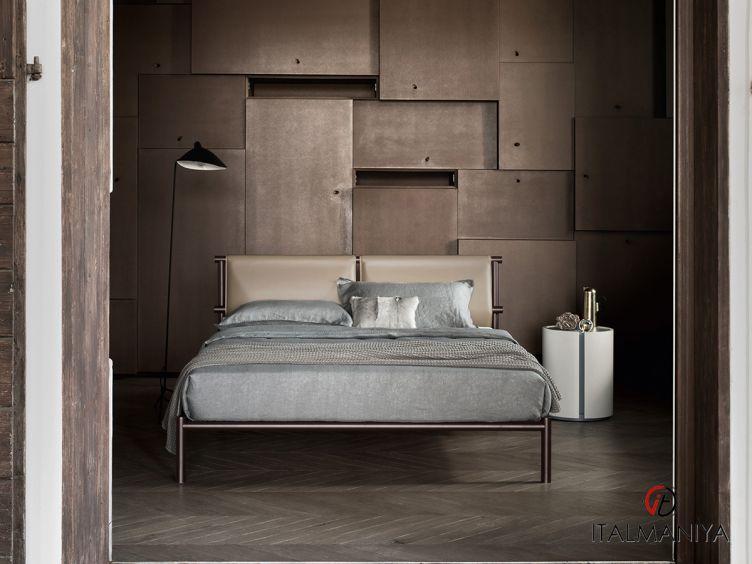 Фото 1 - Кровать Jetty фабрики Alf (производство Италия) в стиле лофт из металла