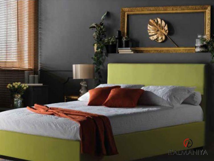 Фото 1 - Кровать Malibu фабрики Milano Bedding (производство Италия) в современном стиле из массива дерева