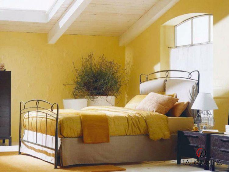 Фото 1 - Кровать Versilia фабрики Bontempi Casa (производство Италия) в стиле прованс из металла