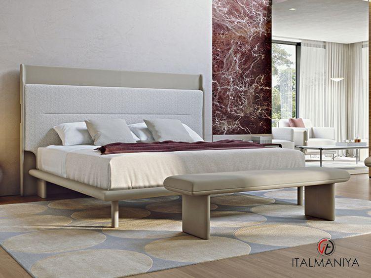 Фото 1 - Кровать Zero фабрики Turri (производство Италия) в современном стиле из массива дерева