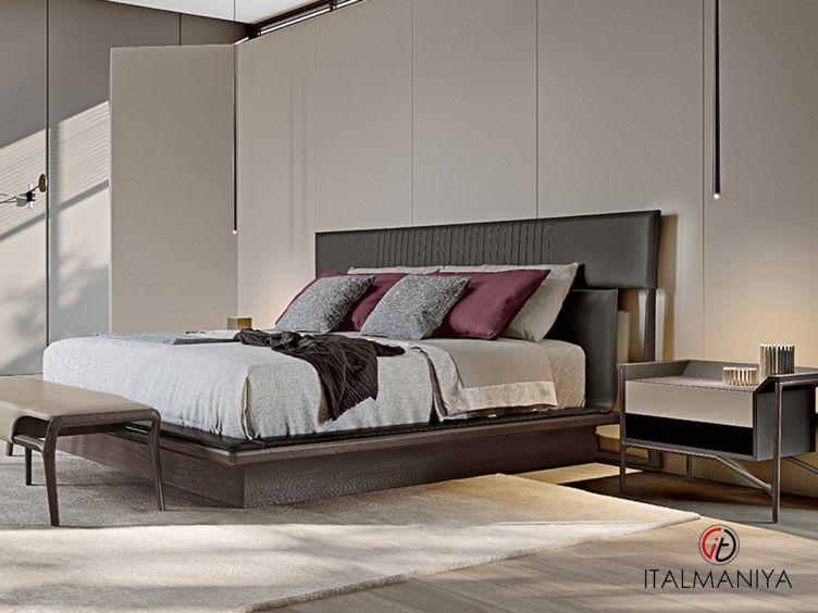 Фото 1 - Кровать Vine фабрики Turri (производство Италия) в современном стиле из массива дерева