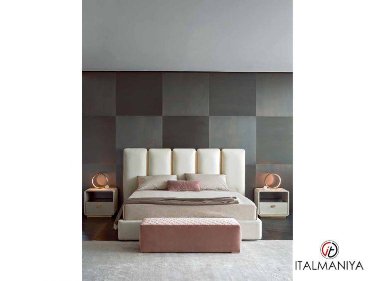 Фото 1 - Кровать Club фабрики Rugiano (производство Италия) в современном стиле из металла