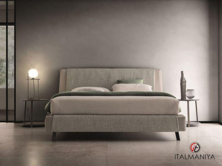 Фото 1 - Кровать Kailua фабрики Ditre Italia (производство Италия) в современном стиле из массива дерева