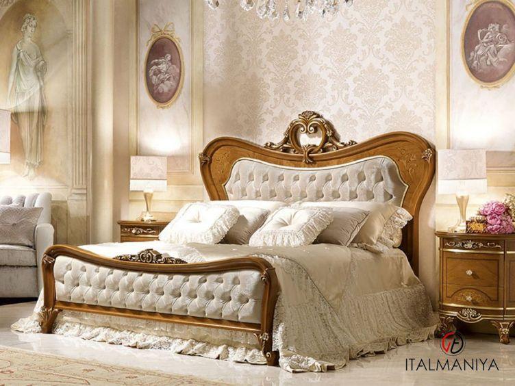 Фото 1 - Кровать Diamante фабрики Barnini Oseo (производство Италия) в классическом стиле из массива дерева