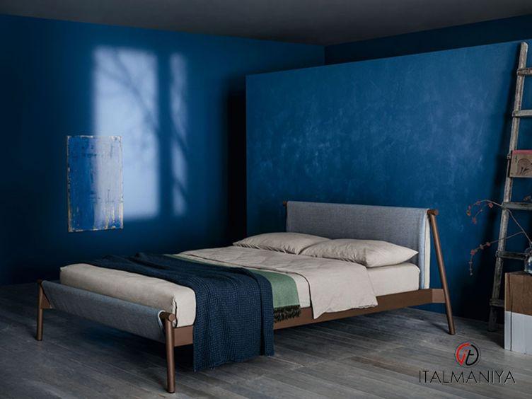 Фото 1 - Кровать Jack фабрики Bolzan Letti (производство Италия) в современном стиле из металла