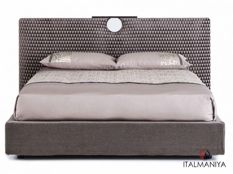 Фото 1 - Кровать Bay фабрики Cantori (производство Италия) в современном стиле из массива дерева