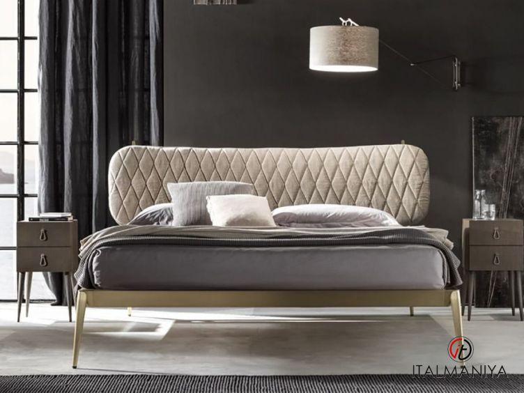 Фото 1 - Кровать Urbino Trapuntato фабрики Cantori (производство Италия) в современном стиле из металла