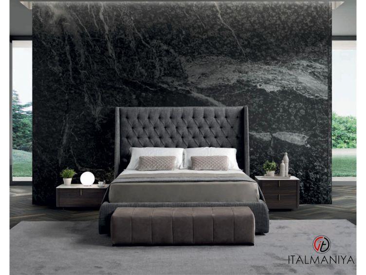 Фото 1 - Кровать King фабрики Conte (производство Италия) в современном стиле из массива дерева