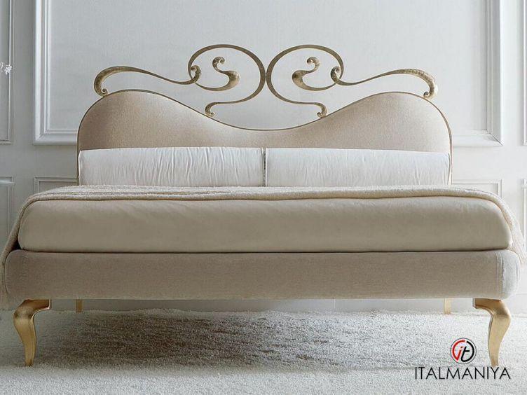 Фото 1 - Кровать Maya фабрики Corte Zari (производство Италия) в стиле арт-деко из металла