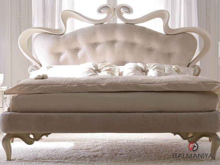 Фото 1 - Кровать Melissa фабрики Corte Zari (производство Италия) в стиле арт-деко из металла