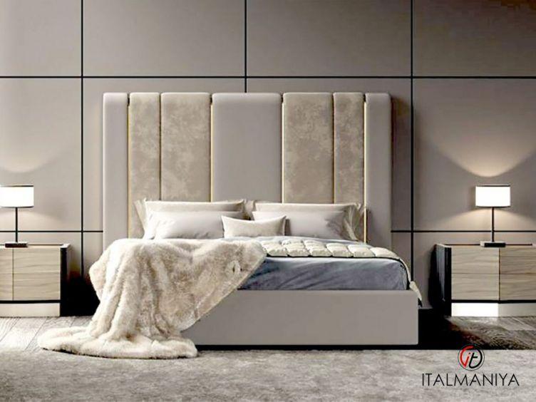 Фото 1 - Кровать Rubens фабрики Corte Zari (производство Италия) в современном стиле из массива дерева