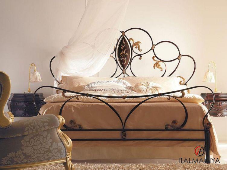 Фото 1 - Кровать Tiffany фабрики Corte Zari (производство Италия) в классическом стиле из металла