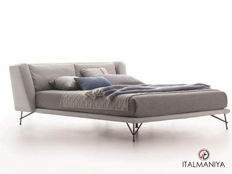 Фото 1 - Кровать Lennox фабрики Ditre Italia (производство Италия) в современном стиле из МДФ