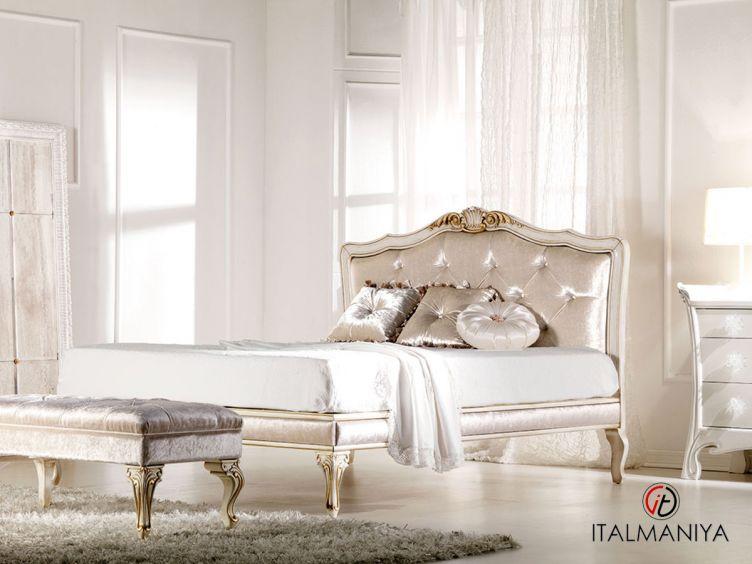 Фото 1 - Кровать Lisa фабрики Keoma (производство Италия) в стиле прованс из массива дерева