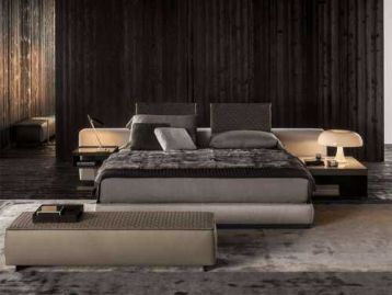 Кровать Yang Bed Minotti