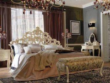 Кровать Memorie veneziane Silver is the Night Giorgiocasa