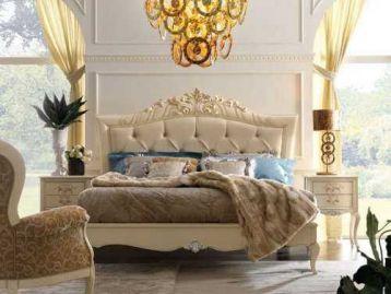 Кровать с высоким изголовьем Memorie veneziane Giorgiocasa